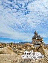 Balance Mind Body Spirit Composition Book