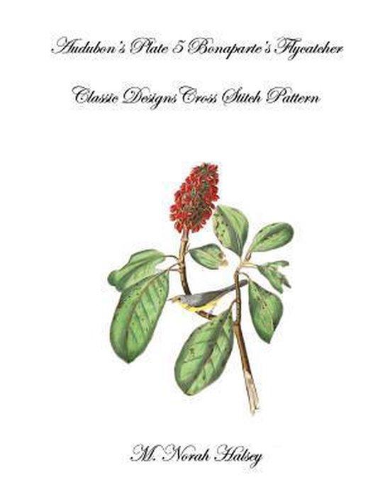 Boek cover Audubons Plate 5 Bonapartes Flycatcher van M Norah Halsey (Paperback)