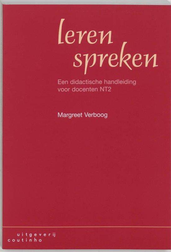 Leren Spreken - M. Verboog |