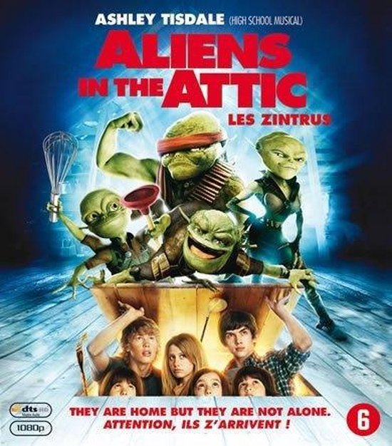 Cover van de film 'Aliens In The Attic'