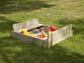 TP Zandbak Play - Inclusief deksel - 110 x 90 cm - Bruin