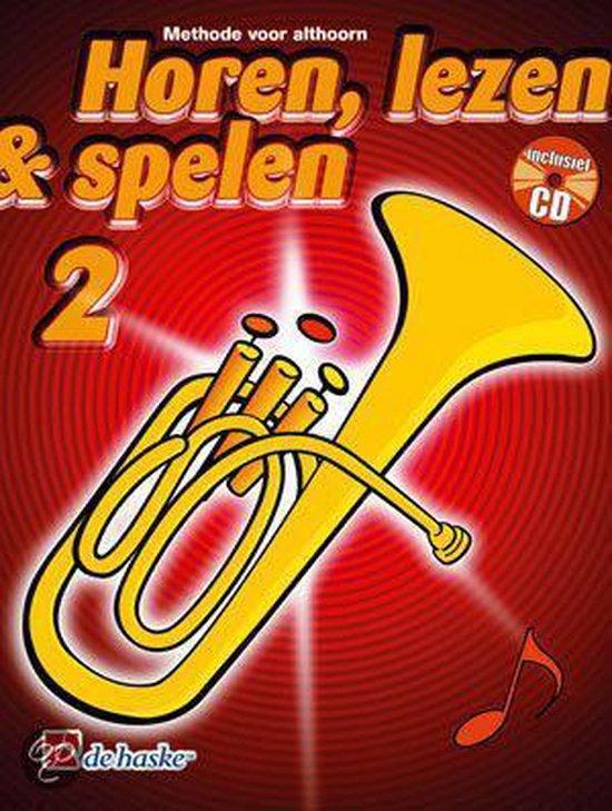Horen Lezen & Spelen deel 2 voor Althoorn (Boek met Cd) - M. Oldenkamp |