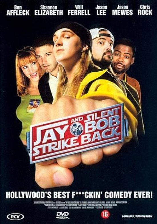 Cover van de film 'Jay & Silent Bob Strike Back'
