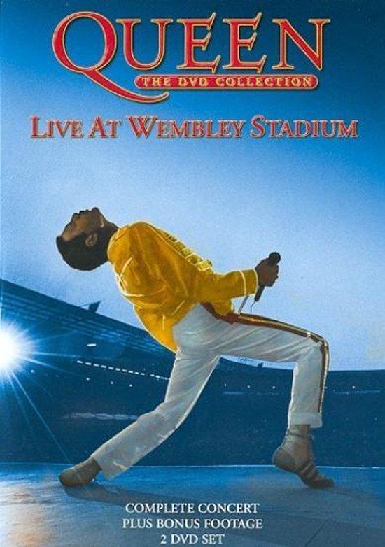 CD cover van Live At Wembley Stadium van Queen