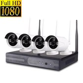 CCTV Draadloos beveiligingscamera set Wi-Fi NVR