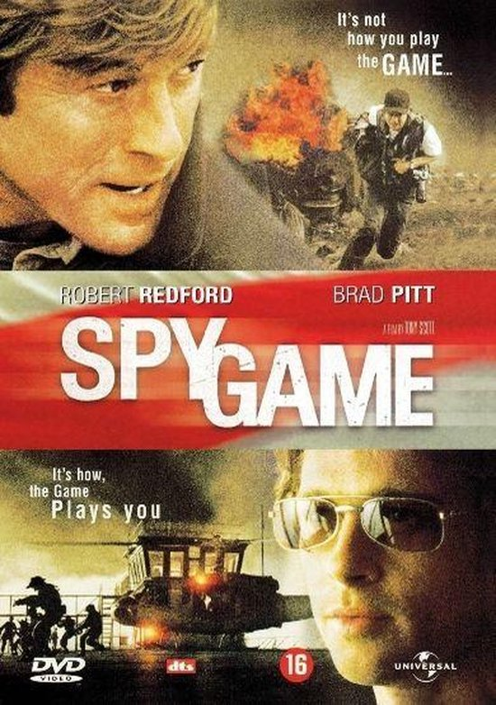Cover van de film 'Spy Game'