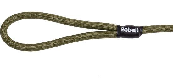 Rebel Petz Hondenriem - Leger Groen - L - 140 cm