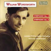 Wordsworth: Symphonies 2 & 3