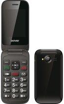 Denver BAS-24200M - Senioren mobiele telefoon - SOS knop - oplaadstation - Simlock vrij