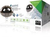 Konig König IP-camera's Indoor, IP, M-JPEG, CMOS, 25fps, IEEE 802.11b/g/n, microSD, iOS/Android, White