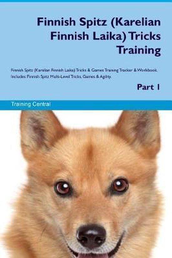 Finnish Spitz (Karelian Finnish Laika) Tricks Training Finnish Spitz Tricks & Games Training Tracker & Workbook. Includes