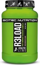 Scitec Nutrition - Athletic Line - R3Load - Post workout complex - 2100 g - 21 Porties - Poeder - Dark Chocolate - Chocolade puur