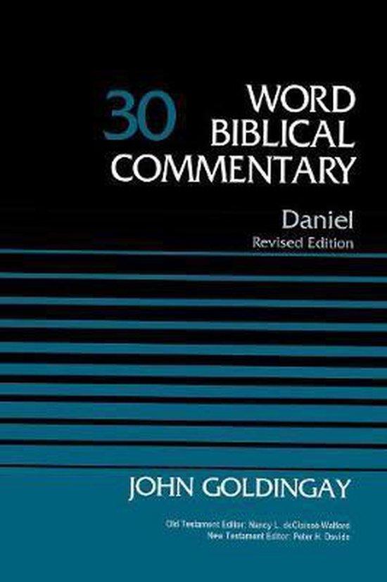 Boek cover Daniel, Volume 30 van Dr. John Goldingay (Hardcover)
