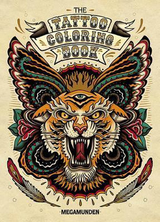 The Tattoo Adult Coloring Book