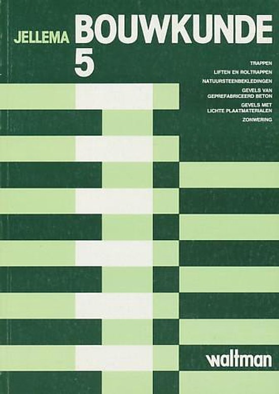 Bouwkunde 5 - Jellema pdf epub
