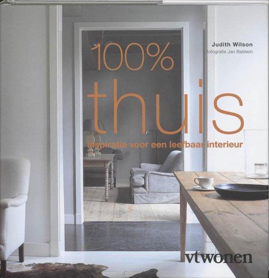 Cover van het boek '100% Thuis' van J. Wilson