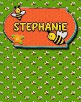 Handwriting Practice 120 Page Honey Bee Book Stephanie