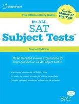 Boek cover Official Study Guide for All SAT Subject Tests van College Board