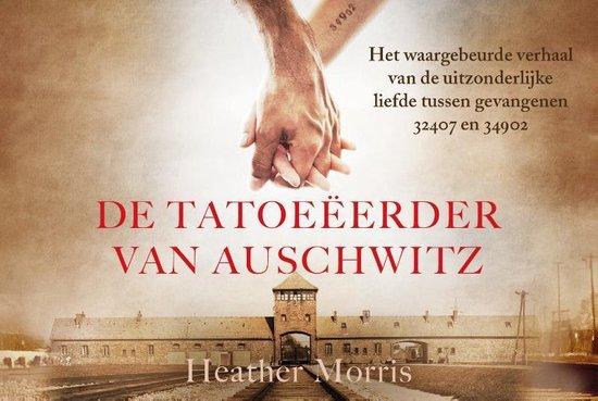 Boek cover De tatoeëerder van Auschwitz - dwarsligger (compact formaat) van Heather Morris (Onbekend)