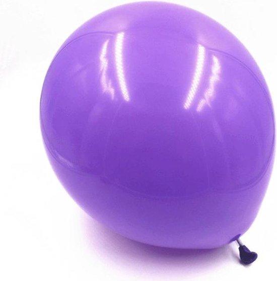 1 Latex Ballon Paars XL | 36 Inch Ballon | Verjaardag Bruiloft