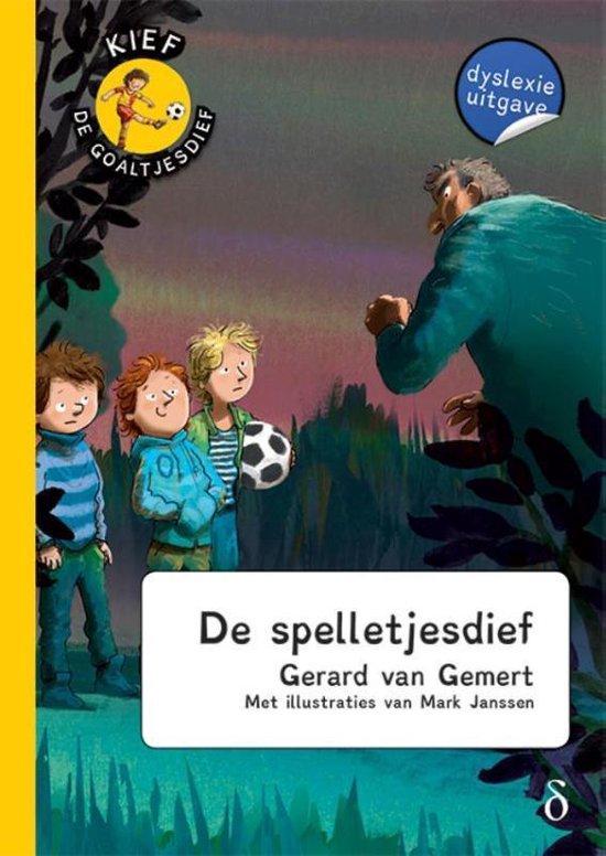 Kief, de goaltjesdief 12 - De spelletjesdief - Gerard van Gemert |