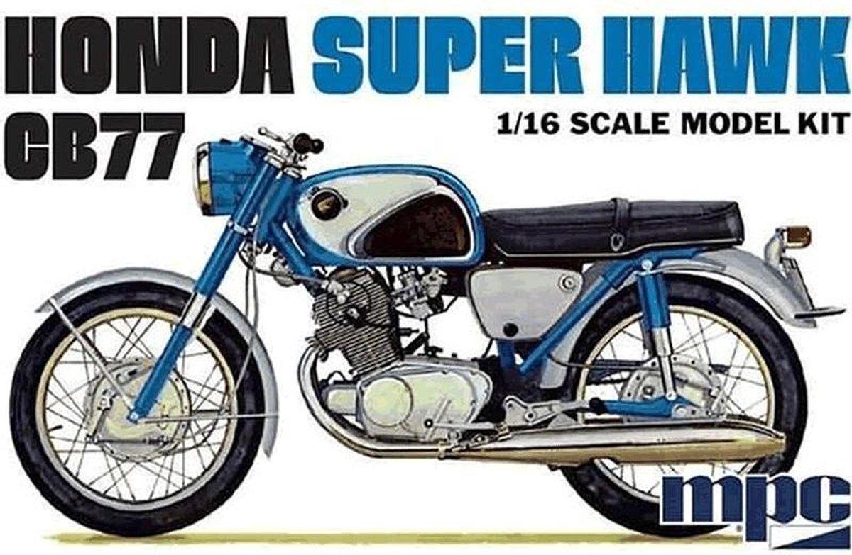 Honda Super Hawk CB77 - Modelbouw pakket 1:16