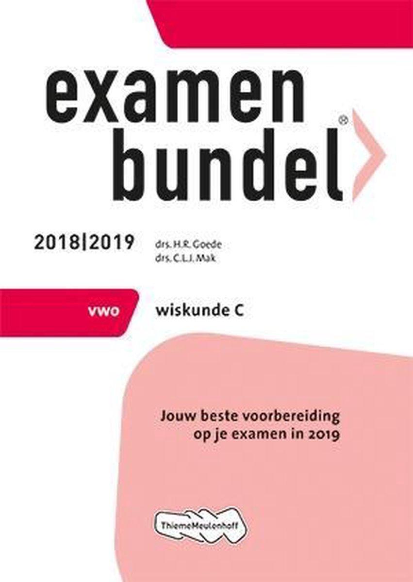 Examenbundel vwo Wiskunde C 2018/2019 - Examenmateriaal