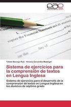 Sistema de Ejercicios Para La Comprension de Textos En Lengua Inglesa