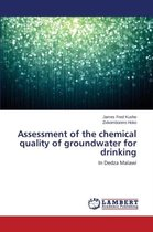 Assessment of the Chemical Quality of Groundwater for Drinking