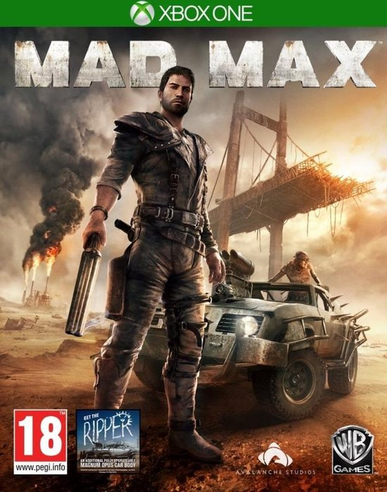 Mad Max – Xbox One – Engelstalige hoes
