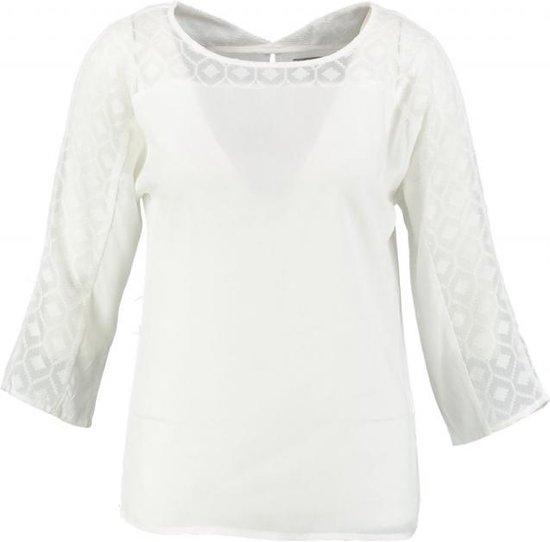Vero moda blouse shirt snow white 3/4 mouw - Maat M