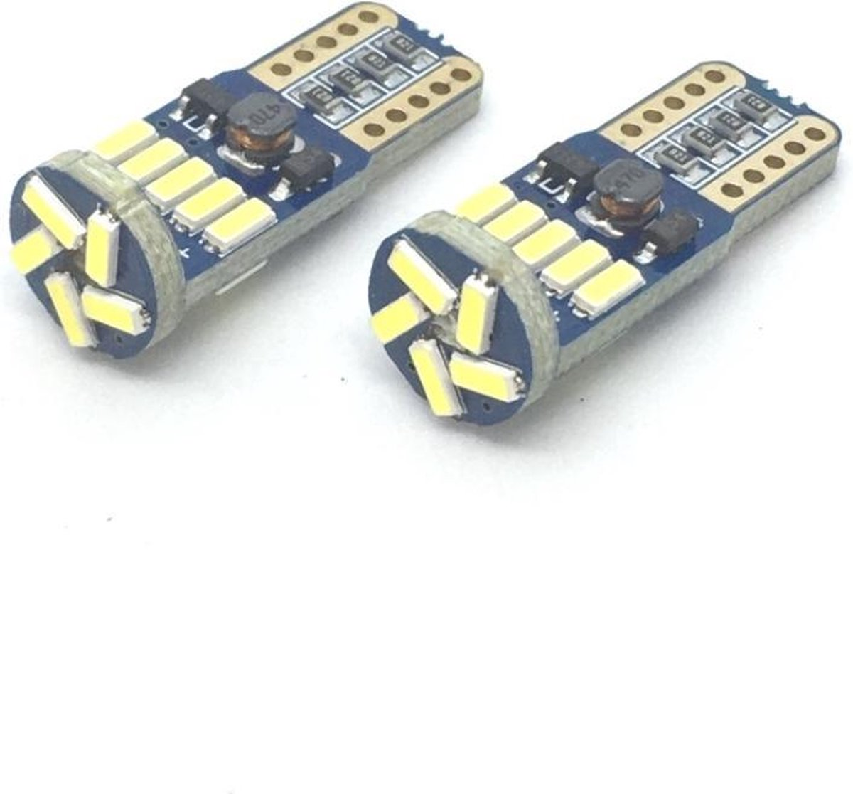 T10 W5W LED Canbus 15 SMD helder en fel wit licht voor stadslicht, interieur- of kentekenverlichting