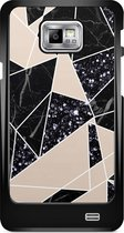 Samsung Galaxy S2 hoesje - Abstract painted