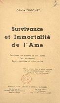 Survivance et immortalité de l'âme