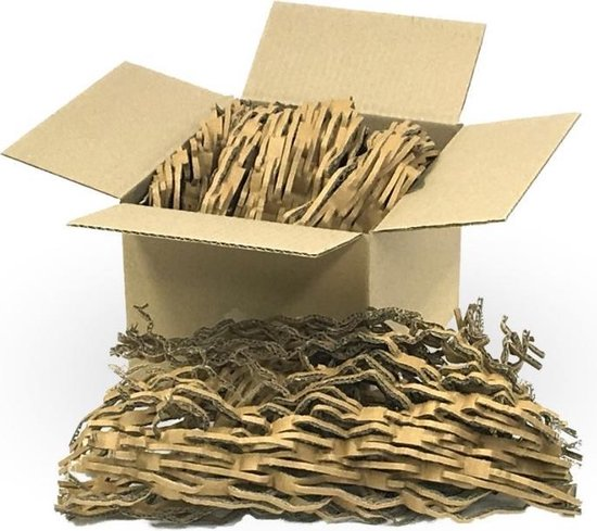 Shredder karton milieuvriendelijk opvulmateriaal 6kg