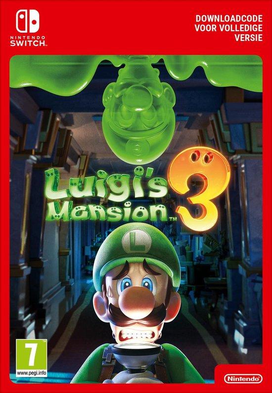 Afbeelding van Luigis Mansion 3 - Switch download