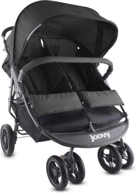 Product: Joovy Scooter X2 - Duo Buggy - Dubbele Buggy - Zwart, van het merk Joovy