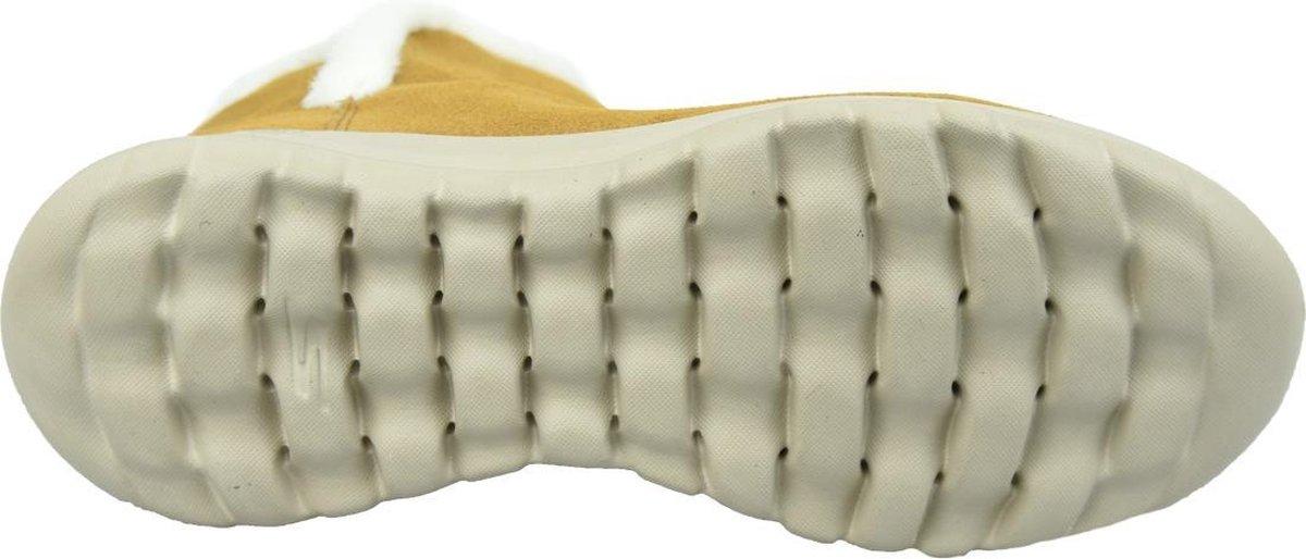 Skechers On The Go Joy Bundle Up 15501-CSNT, Vrouwen, Bruin, Laarzen maat: 39 EU Boots