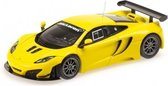 McLaren MP4-12C GT3 2012 Yellow