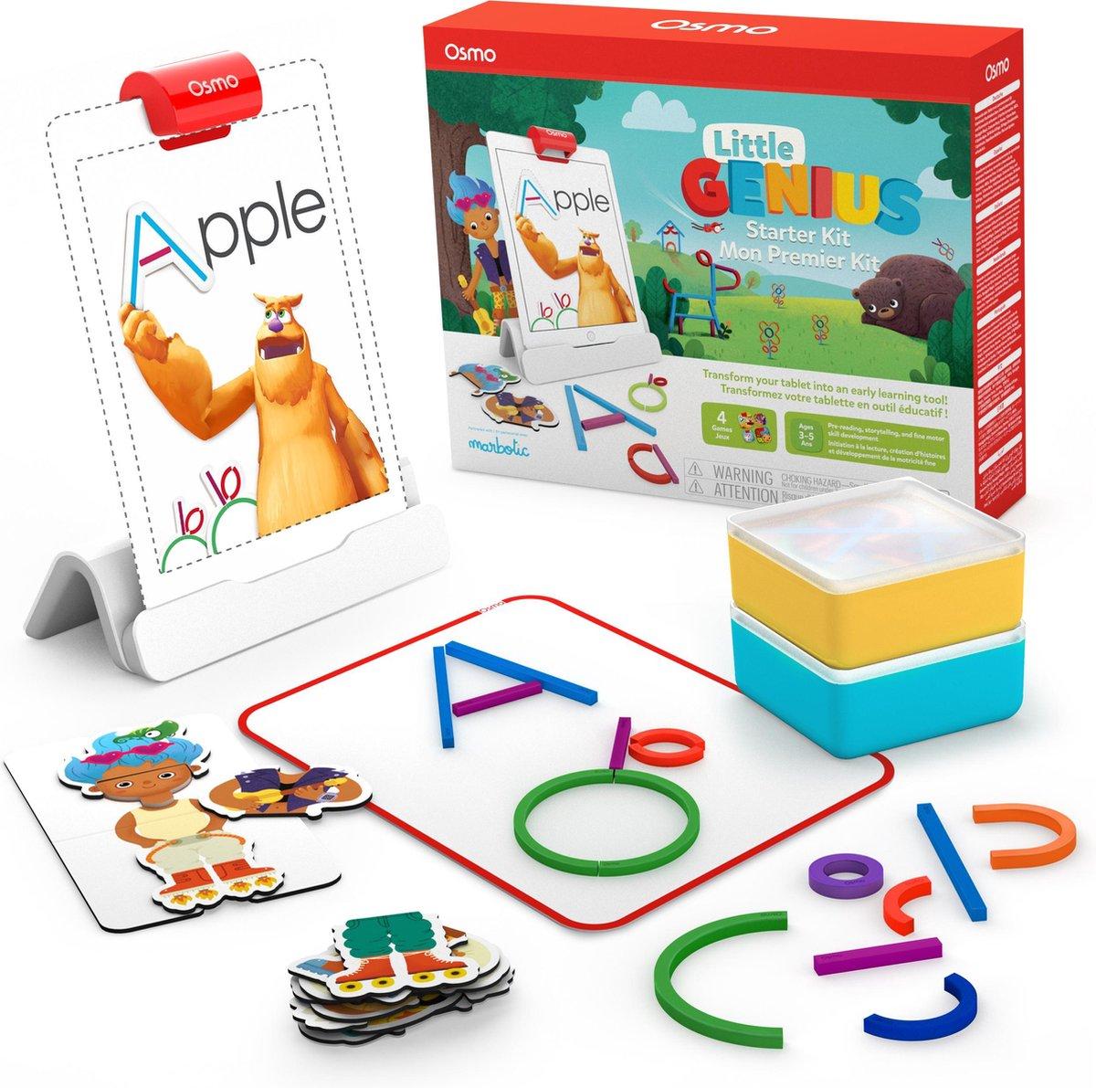 Osmo Little Genius Starter Kit - Educatief speelgoed voor iPad