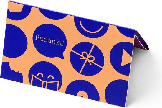 bol.com cadeaukaart - 75 euro - Bedankt!