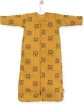 Jollein Tiger Padded Babyslaapzak - met afritsbare mouw - 110cm - mustard