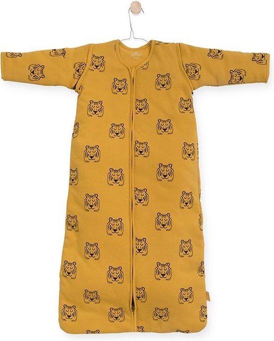 Product: Jollein Tiger Padded Babyslaapzak - met afritsbare mouw - 110 cm - mustard, van het merk Jollein