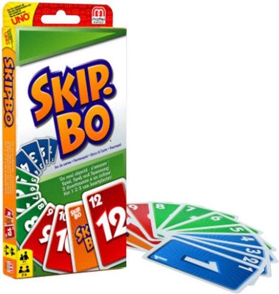 Afbeelding van Skip-Bo - Kaartspel speelgoed