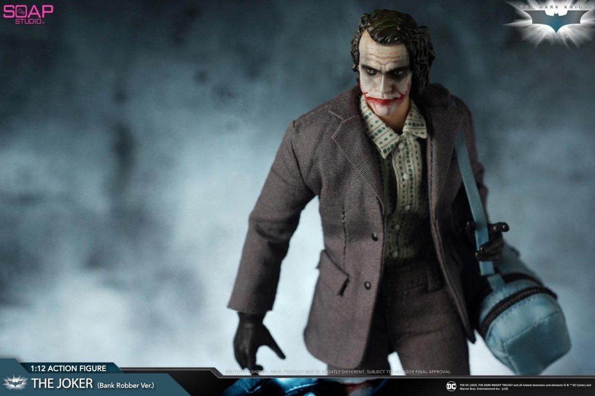 soap studios DC Comics: The Dark Knight - Joker 1:12 Scale Action Figure