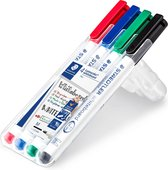 Lumocolor whiteboard pen - Box 4 st