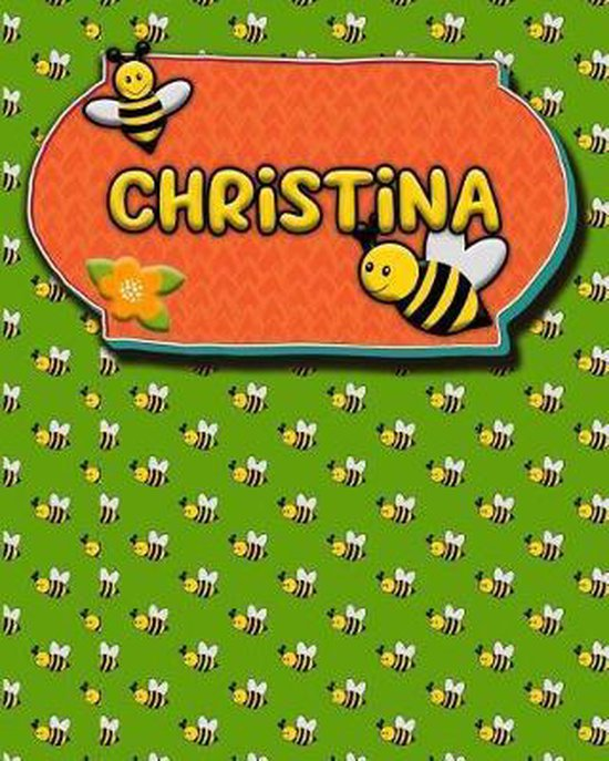 Handwriting Practice 120 Page Honey Bee Book Christina