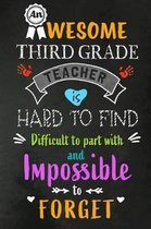 An Awesome Third Grade Teacher is Hard to Find