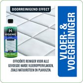 HYGENIQ® Groene doorreinigende schoonmaakmiddelen - Vloer & voegreiniger - Badkamerreiniger - Nare geurtjes remover
