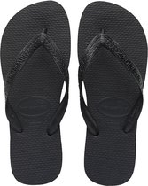 Havaianas Top Unisex Slippers - Black - Maat 39/40